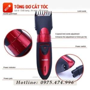 Tông đơ cắt tóc surker hc - 7068 19 - surker 7068