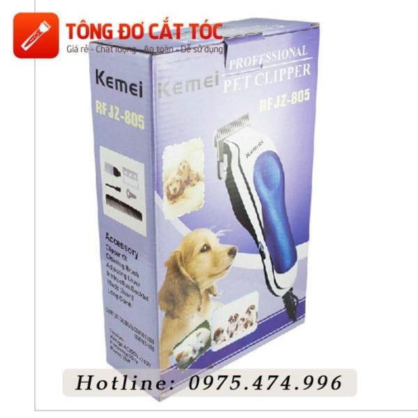 Tông đơ cắt lông chó kemei rsjz -805 6 - kemei 805. 1