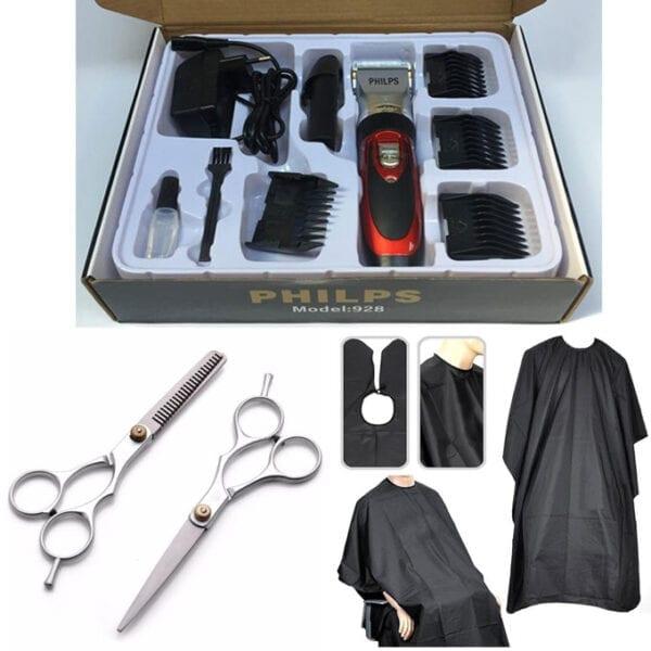 Combo tông đơ cắt tóc gia đình pl928 5 - combo pl 928