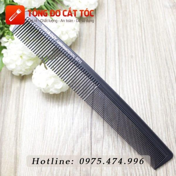Combo tông đơ cắt tóc chuyên nghiệp: codos t6 + kéo cắt + kéo tỉa + áo choàng + dao cạo + lược 12 - luoc tonyguy