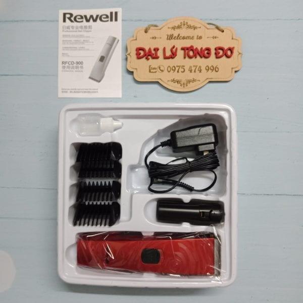 Tông đơ cắt tóc rewell 900 6 - rewell 900 2