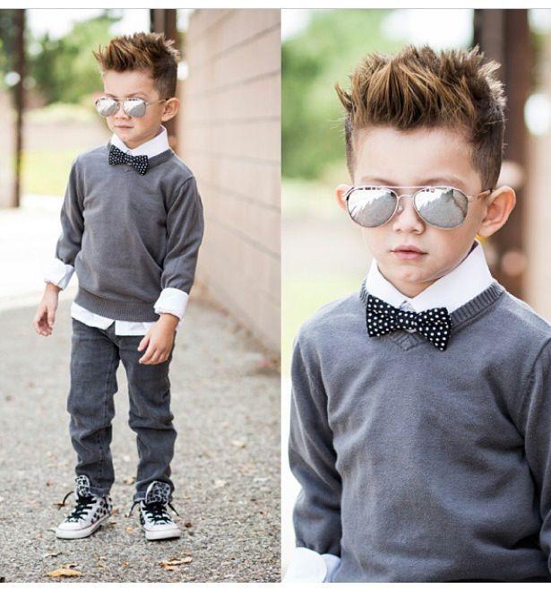Giúp bố mẹ chọn kiểu tóc đẹp cho bé trai 7 - nh rối 1