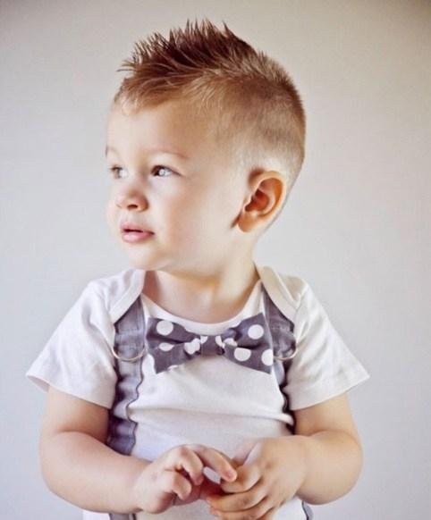 Giúp bố mẹ chọn kiểu tóc đẹp cho bé trai 5 - bờm ngựa