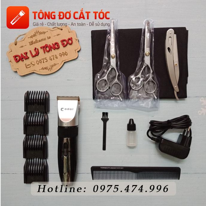 Combo tông đơ cắt tóc codol 531 24 - combo 531