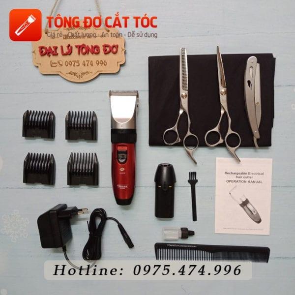Combo tông đơ cắt tóc gia đình số 1 pl 8088 5 - combo8088
