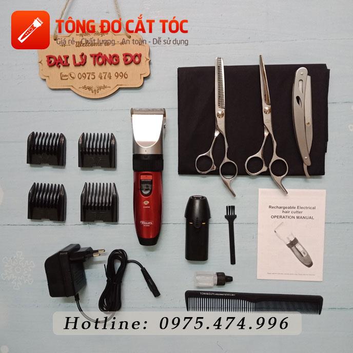 Combo tông đơ cắt tóc gia đình số 1 pl 8088 33 - combo8088