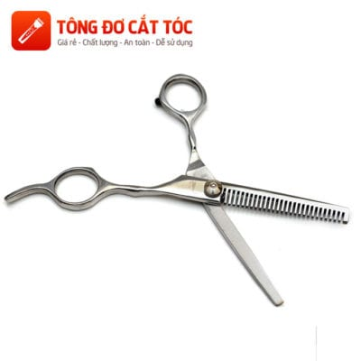 Combo tông đơ cắt tóc chuyên nghiệp: codos t6 + kéo cắt + kéo tỉa + áo choàng + dao cạo + lược 38 - keo tia