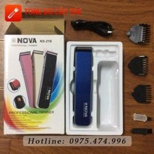 Tông đơ cắt tóc nova ns-216 13 - tong do nova 216. 5