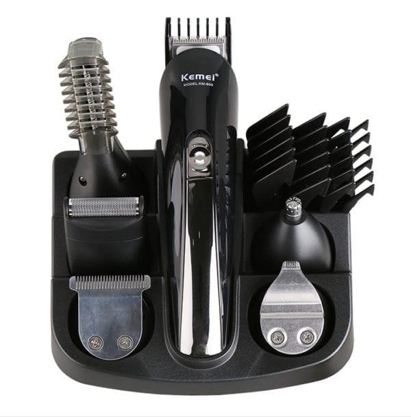 Tông đơ cắt tóc đa năng 6 trong 1 kemei km-600 5 - tong do cat toc da nang 6 trong 1 kemei km 600 4