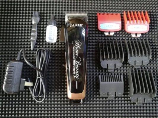 Tông đơ lưỡi kép jame 7601 chuyên nghiệp 14 - tông đơ cắt tóc jame 3