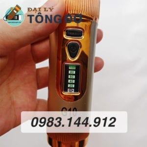 Tông đơ cắt tóc kato g10 lưỡi sứ 18 - tong do g10 2