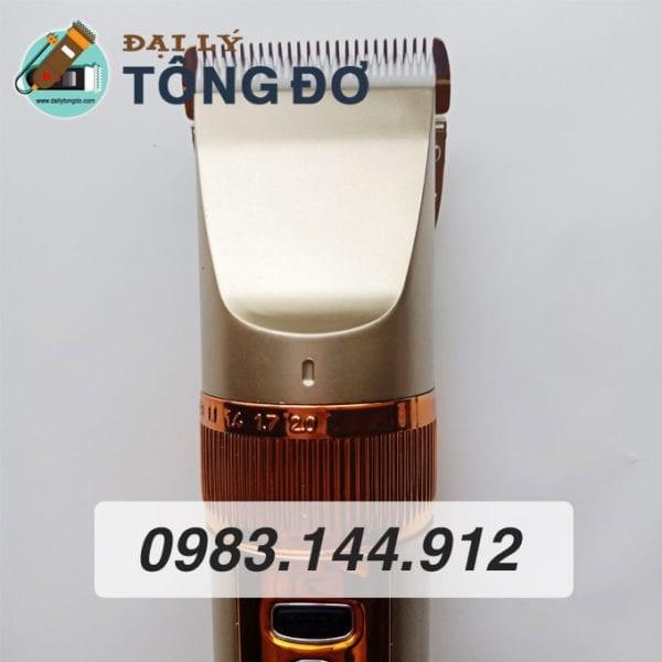 Tông đơ cắt tóc kato g10 lưỡi sứ 8 - tong do g10 3