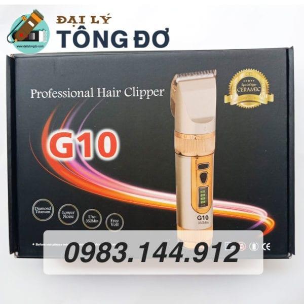 Tông đơ cắt tóc kato g10 lưỡi sứ 7 - tong do g10 4