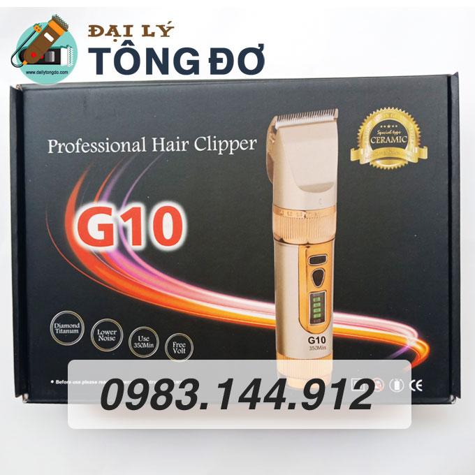 Tông đơ cắt tóc kato g10 lưỡi sứ 24 - tong do g10 4