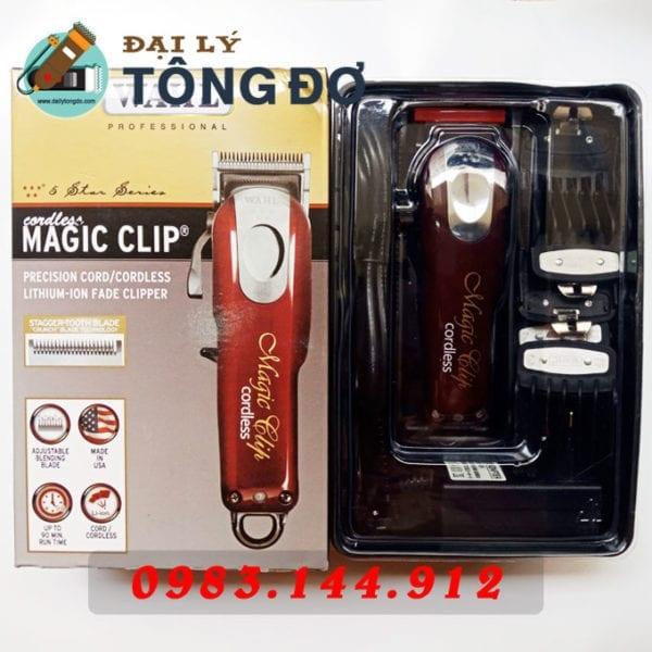 Tông đơ cắt tóc cao cấp wahl magic clip 8 cữ 6 - wahl magic clip4