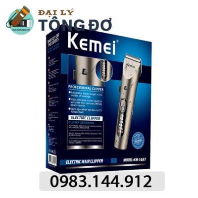 Tông đơ cắt tóc cao cấp kemei km-1627 18 - kemei km 1627. 1