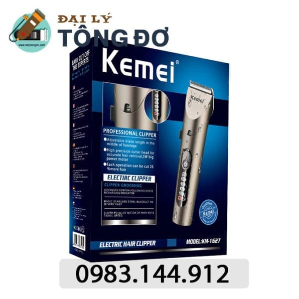 Tông đơ cắt tóc cao cấp kemei km-1627 6 - kemei km 1627. 1
