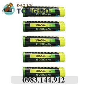 Pin sạc akasha 18650 / 1 pin 10 - pin 18650