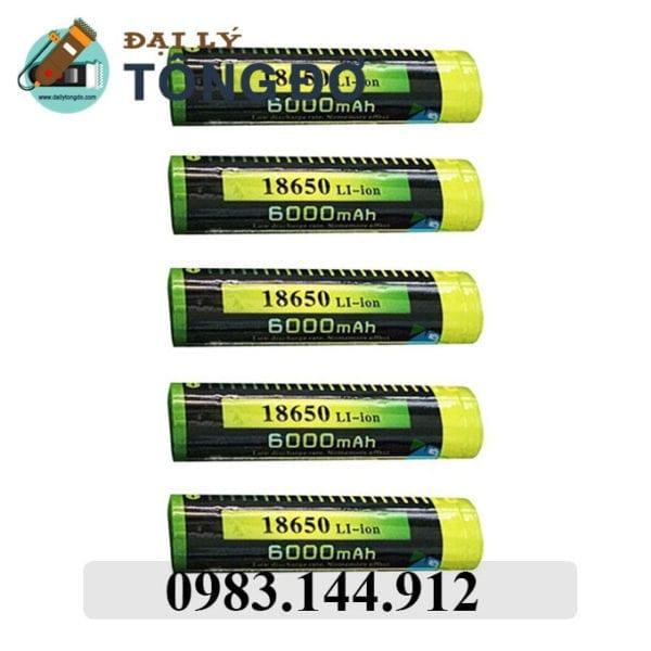 Pin sạc akasha 18650 / 1 pin 7 - pin 18650