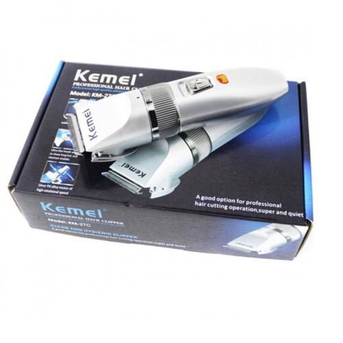 Tông đơ cắt tóc gia đình tiện dụng kemei km-27c 7 -
