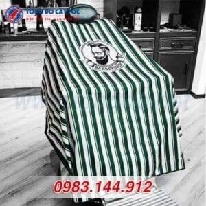 Áo choàng cắt tóc barber shop màu xanh (a2) 10 - ao choang cat toc 1 588x588 1