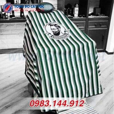 Áo choàng cắt tóc barber shop màu xanh (a2) 12 - ao choang cat toc 1 588x588 1