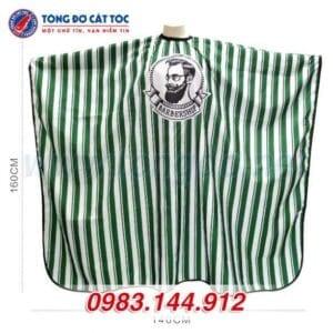 Áo choàng cắt tóc barber shop màu xanh (a2) 8 - ao choang cat toc 2 588x588 1