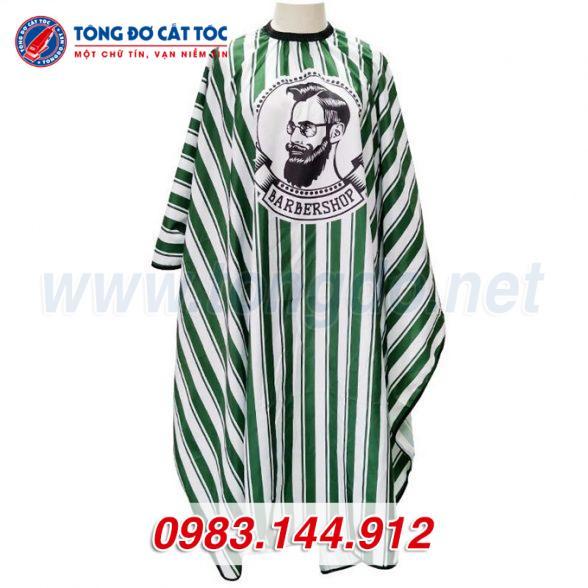 Áo choàng cắt tóc barber shop màu xanh (a2) 5 - ao choang cat toc 588x588 1