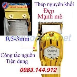 Tông đơ kemei km-1976 cao cấp 10 - kemei 1976 500x500 1