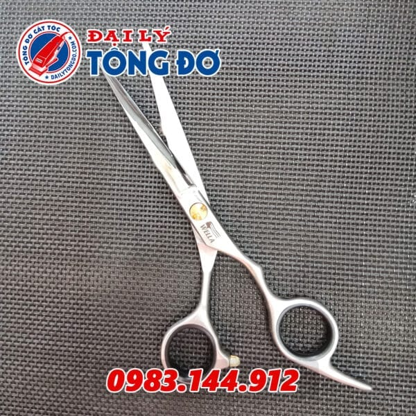 Bộ kéo cắt tỉa tóc wella đức (tặng kèm bao da đựng kéo cao cấp + 2 lược toniguy) 8 - keo wella 2