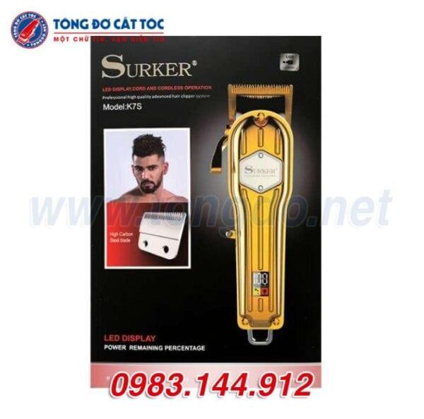 Tông đơ cắt tóc suker k7s 6 - surker k7s 5