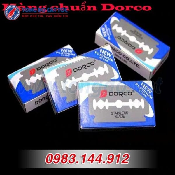 Lưỡi d0rco chất lượng cao, hộp 100 lưỡi dao lam d0rco st300 hàn quốc 5 - 2cbe8dc2d79fe1152cd253d76b6921a2 1