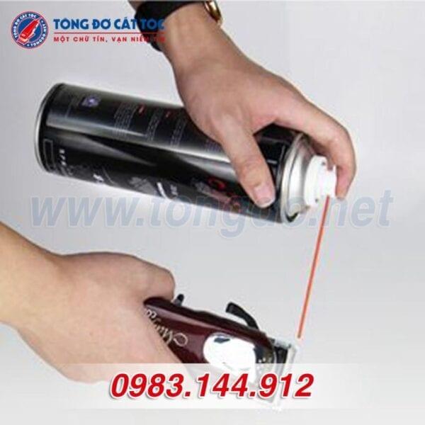 Chai xịt làm mát lưỡi tông đơ clipper blade care cao cấp 7 - 9448cb36cad9ebeb2c856273565d0ee9