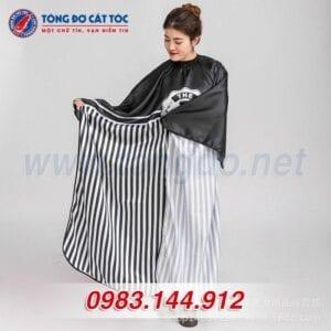 Áo choàng cắt tóc the barber (a4) 13 - ao choang 2