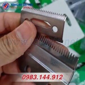 Lưỡi tông đơ cắt tóc: tổng hợp cách tháo lắp, vệ sinh đúng chuẩn 13 - lưỡi kép 1