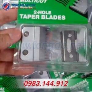 Lưỡi tông đơ cắt tóc: tổng hợp cách tháo lắp, vệ sinh đúng chuẩn 15 - lưỡi kép