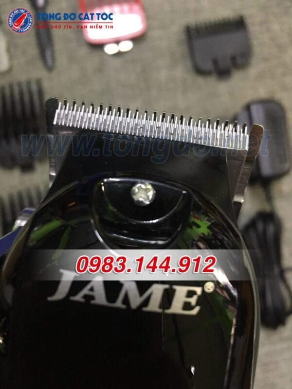 Tông đơ lưỡi kép jame 1070 siêu bén, chuyên fade 6 - jame 1070. 1