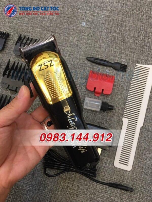 Tông đơ lưỡi kép zsz f35 chuyên fade, chuyên barber 6 - tong do f35 1