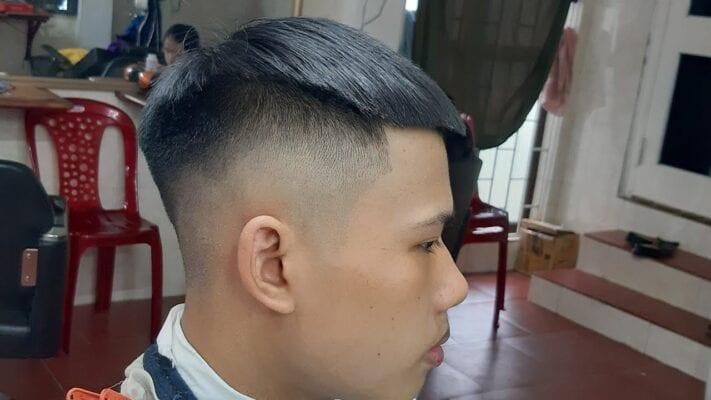 Hướng dẫn cắt tóc nam bằng tông đơ codos tại nhà 1 - cat toc codos 918