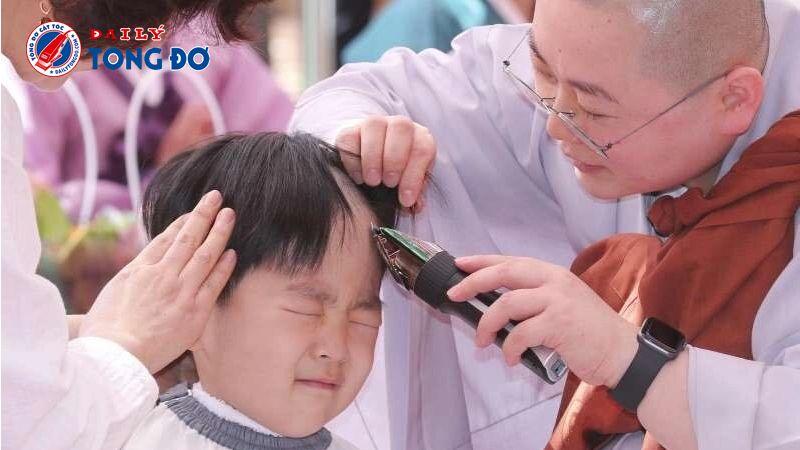 Tông đơ cắt tóc dành cho các nhà Sư