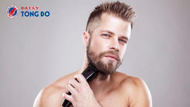 Tông đơ dành cho đàn ông có râu quai nón