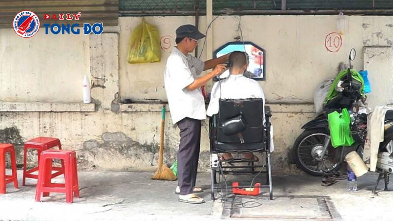 Tông đơ dành cho thợ cắt tóc vỉa hè