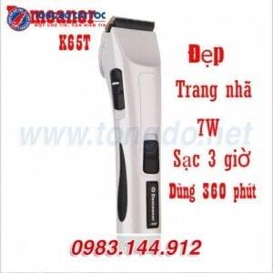 Tông đơ cắt tóc chuyên nghiệp demeanor k65t (7w | 300 phút | tặng lược tony&guy) 19 - tong do k65t. 3 588x588 1