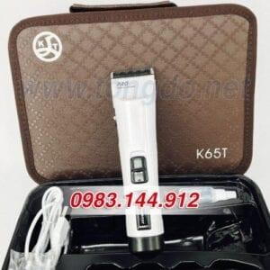 Tông đơ cắt tóc chuyên nghiệp demeanor k65t (7w | 300 phút | tặng lược tony&guy) 17 - tong do k65t. 5 500x667 1