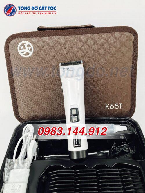 Tông đơ cắt tóc chuyên nghiệp demeanor k65t (7w | 300 phút | tặng lược tony&guy) 8 - tong do k65t. 5 500x667 1