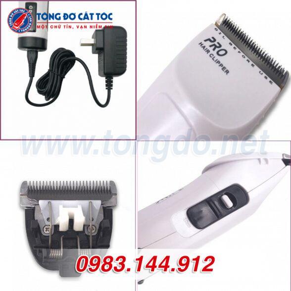 Tông đơ cắt tóc chuyên nghiệp demeanor k65t (7w | 300 phút | tặng lược tony&guy) 6 - tong do k65t. 6 588x588 1
