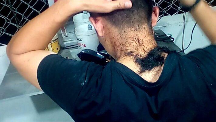 Cách cắt tóc bằng tông đơ