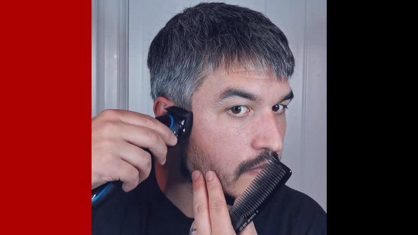 Cắt tóc bằng tông đơ