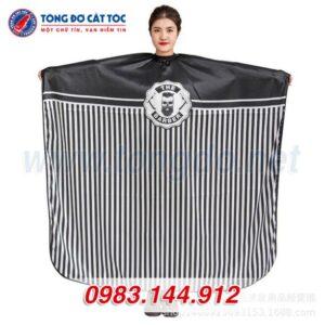 Combo tông đơ philips qc-2019: tông đơ + kéo cắt + kéo tỉa + áo choàng + lược + 2 kẹp tóc + bao da 13 - ao choang