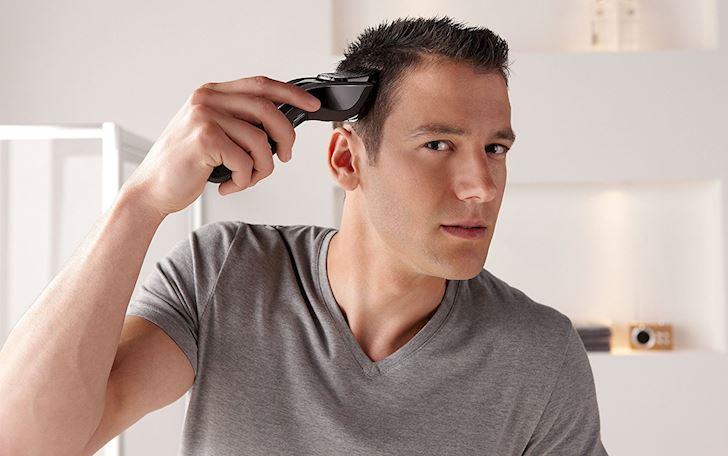 Cách cắt tóc nam bằng tông đơ